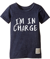 The Original Retro Brand Kids - I'm in Charge Short Sleeve Tri-Blend Tee (Toddler)
