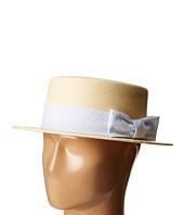 Vineyard Vines - Kentucky Derby Seersucker Straw Derby Hat
