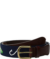 Vineyard Vines - Hook & Slice Needlepoint Belt