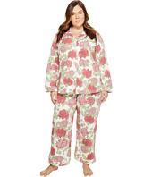 BedHead - Plus Size Long Sleeve Classic Pajama Set