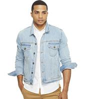 nANA jUDY - The Sawyer Denim Jacket with Zippers At Side Seam
