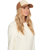 UGG - Curly Pile Leather Baseball Hat