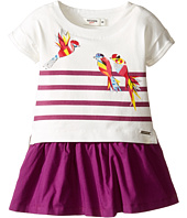Junior Gaultier - Stripe Dress with Bird (Infant)