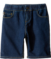 Paul Smith Junior - Fleece Denim Shorts (Toddler/Little Kids)
