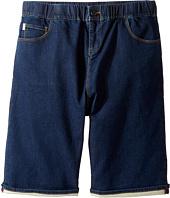 Paul Smith Junior - Fleece Denim Shorts (Big Kids)