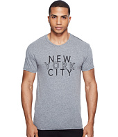 The Original Retro Brand - New York City Short Sleeve Tri-Blend Tee