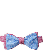 Vineyard Vines - Kentucky Derby Rose Geo Printed 2 Panel Bow