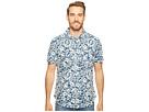 Isla Vista Bloom Linen Short Sleeve Button Up