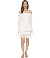 Jonathan Simkhai - Ruffle Crochet Dress Cover-Up