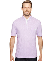 Thomas Dean & Co. - Cotton Heathered Solid Polo