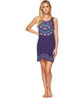 Lucky Brand - Graphic Screen Print Flare Slip