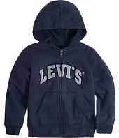 Levi's® Kids - Iconic Zip Front Hoodie (Toddler)