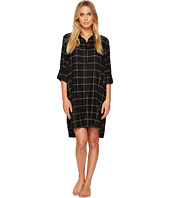 DKNY - Flannel Long Sleeve Sleepshirt