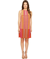 M Missoni - Multicolor Plisse Sleeveless Dress