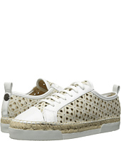 Sonia Rykiel - Perforated Velvet Sneaker