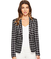 Tahari by ASL - Plaid One-Button Jacket