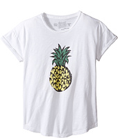 The Original Retro Brand Kids - Short Sleeve Slub Pineapple Tee (Big Kids)