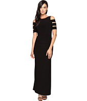 Laundry by Shelli Segal - Embellished Long Jersey Gown