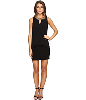 Laundry by Shelli Segal - Matte Jersey Popover Cocktail Dress