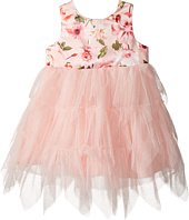 Nanette Lepore Kids - Matte Printed Satin with Tulle (Infant)