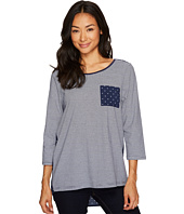 FDJ French Dressing Jeans - Stripe Dot Combo 3/4 Sleeve Top