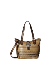 American West - Trading Post Convertible Zip Top Bucket Tote