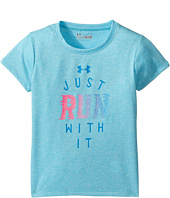 Under Armour Kids - Just Run with It Shirt (Little Kids)