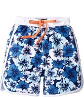 Toobydoo - Hawaiian Blue Boardshorts (Infant/Toddler/Little Kids/Big Kids)