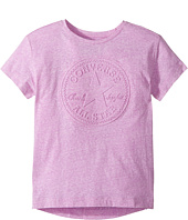 Converse Kids - Embossed Chuck Boxy Top (Big Kids)