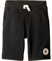 Converse Kids - Core French Terry CTP Shorts (Toddler/Little Kids)