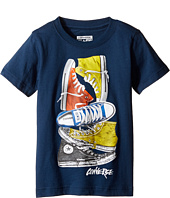 Converse Kids - Stacked Remix Tee (Toddler/Little Kids)