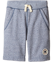 Converse Kids - Core Marled Terry Shorts (Toddler/Little Kids)
