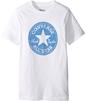 Converse Kids - Reflective Chuck Patch Tee (Big Kids)