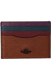 COACH - Metallic Color Block Flat Card Case