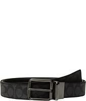COACH - Wide Harness Signature Reversible Belt