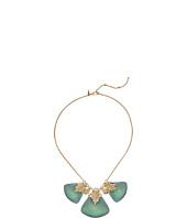Alexis Bittar - Crystal Studded Pleated Bib Necklace