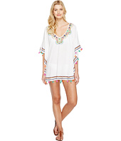 Trina Turk - Paisley Embroidery Caftan Cover-Up