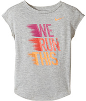 Nike Kids - We Run This Modern Short Sleeve Tee (Toddler)