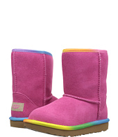UGG Kids - Classic Short II Rainbow (Toddler/Little Kid)