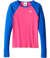 Speedo Kids - Long Sleeve Rashguard (Big Kids)