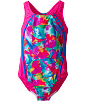 Speedo Kids - Tie-Dye Sky Sport Splice One-Piece Swimsuit (Big Kids)