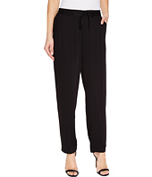 TWO by Vince Camuto - Drapey Rayon Twill Drawstring Jogger Pants