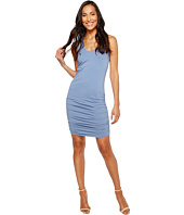 Michael Stars - Scoop Neck Tank Dress w/ Shirring