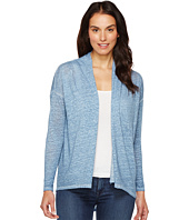 TWO by Vince Camuto - Long Sleeve Pigment Dye Drape Front Cardigan