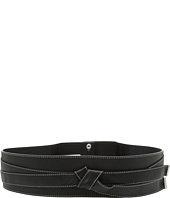 MICHAEL Michael Kors - 65mm Faux Obi Wrap Lamb Belt