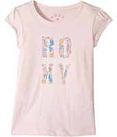 Roxy Kids - Rain Or Shine Flower Power Type Tee (Toddler/Little Kids/Big Kids)