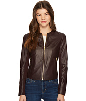 Via Spiga - Zipped Leather Jacket