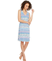 Nally & Millie - Ikat Stripe Print Dress