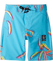 Volcom Kids - Tropic Elastic Boardshorts (Little Kids/Big Kids)