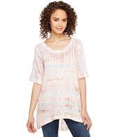 Nally & Millie - Stripe Printed Knit Tunic
